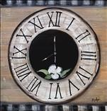 A Rustic Farmhouse Clock