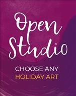 Open Studio Holiday Graphic