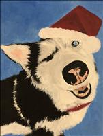 Paint Your Pet (add optional Santa hat!)