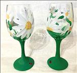 Wildflower Wine Glass Set!