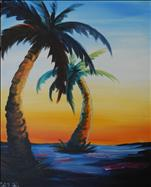 Palm trees at Sunset - MIDNIGHT MADNESS