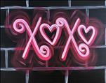 NEW ART: Neon XOXO