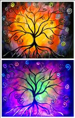 M'rissa's Tree Blacklight Set