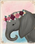 Flower Crown Elephant (21+)