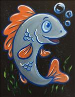 Sea Babies - Fish. Cookies & Canvas