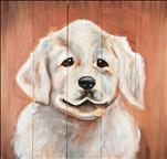 Paint Your Pet~Real Wood Board~3 Hour Custom Class
