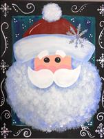 *Coffee n Canvas* Snowy Mr Claus