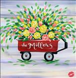 Customize your Wagon of Spring Flowers.