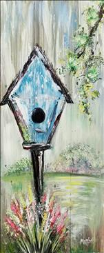 New Art! Rustic Birdhouse. You'll Love It!