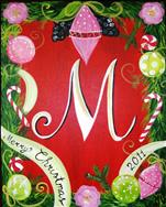 Merry Christmas Monogram