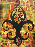 Fall Fleur de Lis- Adults Only