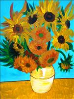 Sunday Masters..Van Gogh Sunflowers..Lmtd Seating