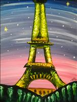 Kids Camp~1 Day FUN ART~LED STARRY NITE IN PARIS