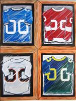 *SUPERBOWL SUNDAY* Paint Your Own Jersey -All ages