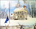 Washington's HQ in Winter (Skippack Original!)