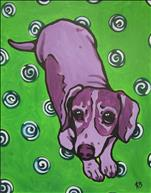 *Limited Seats!* Paint Your Own Pop Art Pet!