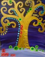 Kids Camp~1 Day FUN ART~Klimt's Tree of Life