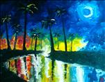 BLUE MOON Painting On the Beach, Beer Tasting &DJ