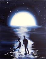 Moonlit Couple-One Canvas Version-Your Choice!