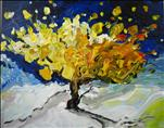 Van Gogh Tree ** BENEFITS PAINTING WITH A PURPOSE*