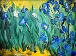 Irises- Van Gogh Month Event #3