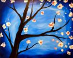 Blossoms on Blue 2hr $35