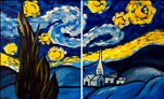 Late Nite Date Nite! Starry Night Couples Set($35)