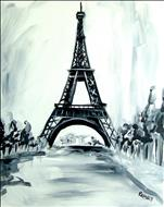 Eiffel Tower - in classy black and white!
