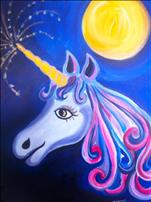 KIDS CLASS - Unicorn in the moonlight