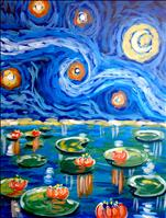 Private Ladies Night Out-Starry Water Lilies
