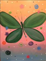New Art! Fun Butterfly - Kids/Family!