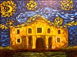 Starry Night Over the Alamo (Adults 18+)