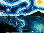 Mermaid Starry Night **Evening Class**