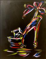 Neon Stiletto *FUN ART!