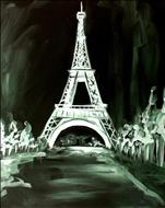 Color Option for Eiffel Tower or Tint a Color!