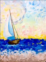 SUNDAY FUNDAY! Van Gogh's A-Sailing