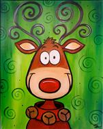 *Cookies and Cocoa!* Crazy Reindeer
