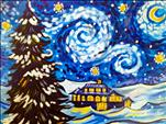 Snowy Starry Night- Manic Monday $10 off