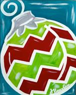 Bright Chevron Ornament - 16&Up