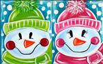 Let It Snow - Design your own Snowman! ALL AGES