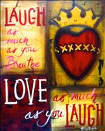 Live, Laugh, Love (Personalize Quote!)