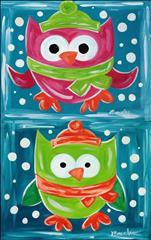 Kids Class--Choose one Cold Hoots-- Pink or Green