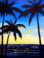 Palms at Dusk -MIDNIGHT MADNESS