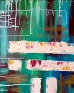 Abstract in Turquoise