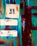 Abstract in Turquoise 2