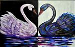 Swan SET or SINGLE CANVAS / ADULTS ONLY