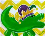 Lundi Gras Gator! Family Day Pick Your Party!