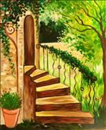 Winding Stairs in Spring