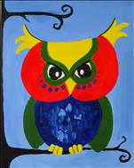 **FAMILY DAY** Colorful Hoot