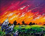 Bluebonnet Sunset (Adults 18+)